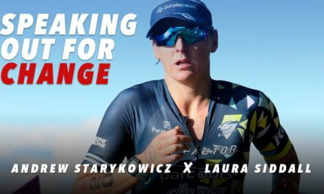 Speaking out to change Triathlon... Andrew Starykowicz discusses with Laura Siddall