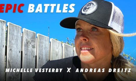 """""""One of us always blew-up!"""" - Michelle Vesterby and Andreas Dreitz discuss epic triathlon battles"""