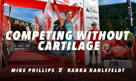 Running without knee cartilage! Mike Phillips and Radka Kahlefeldt share their triathlon challenges