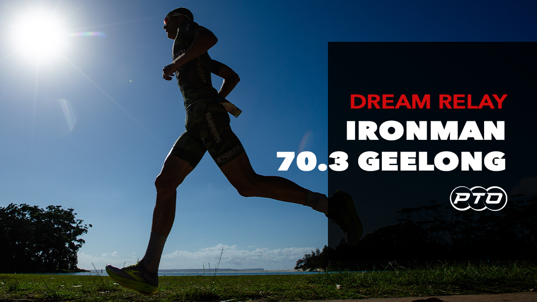 Dream Relay: IRONMAN 70.3 Geelong